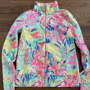Lilly Pulitzer zip up popover jacket size s